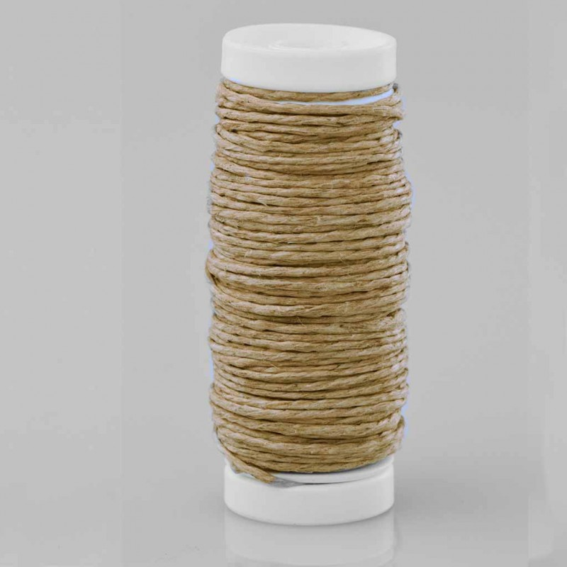 bobine de lin naturel 15m bobine de fil. Black Bedroom Furniture Sets. Home Design Ideas
